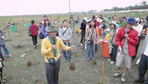 <種福田、救地球>之植樹活動